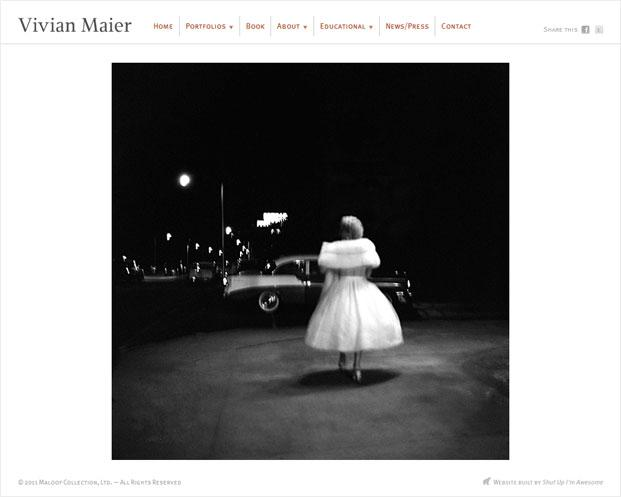 Vivian Maier Website