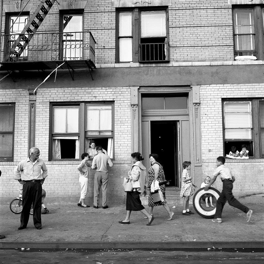 Sept 28, 1959, 108th St. East, New York, NY